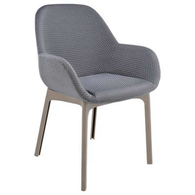 Tortoise and Graphite for Clap Melange Chair by Kartell (KT4182)