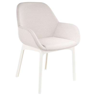 White and Beige for Clap Melange Chair by Kartell (KT4182)