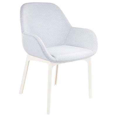 White and Gray for Clap Melange Chair by Kartell (KT4182)
