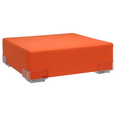 KT6091-02: Customized Item of Plastics Ottoman, Fire Resistant by Kartell (KT6091)