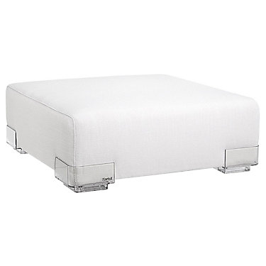 KT7090-71: Customized Item of Plastics Duo Short Ottoman by Kartell (KT7090)
