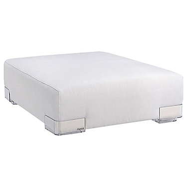 KT7091-75: Customized Item of Plastics Duo Long Ottoman by Kartell (KT7091)