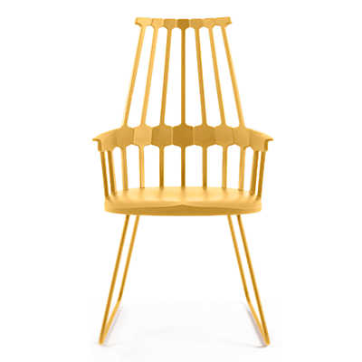Picture of Comback Chair by Kartell, Sled Base