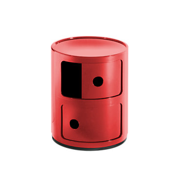 KTCR3-4966-SI: Customized Item of Componibili Small Round Storage Modules by Kartell (KTCR3)