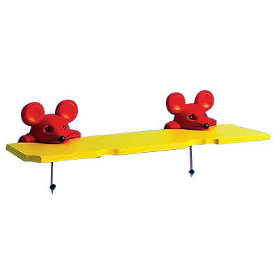 Picture of Mouse Wall Shelf, Double  by Smart Furniture
