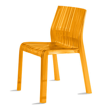 KTFRILL2PK-FUCHSIA: Customized Item of Frilly Chair by Kartell, Set of 2 (KTFRILL)