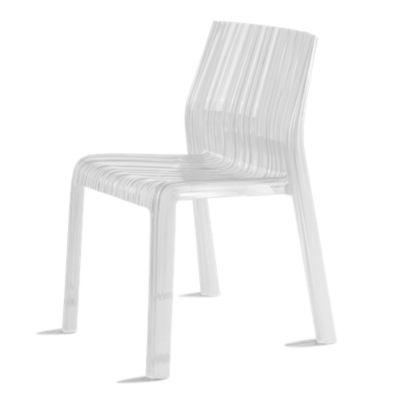 KTFRILL2PK-CRYSTAL: Customized Item of Frilly Chair by Kartell, Set of 2 (KTFRILL)