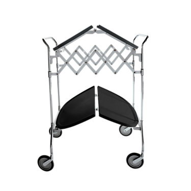 KTGAST-BLACK: Customized Item of Gastone Folding Trolley by Kartell (KTGAST)
