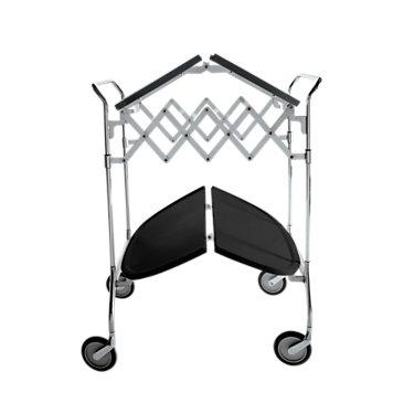 KTGAST-PLUM: Customized Item of Gastone Folding Trolley by Kartell (KTGAST)