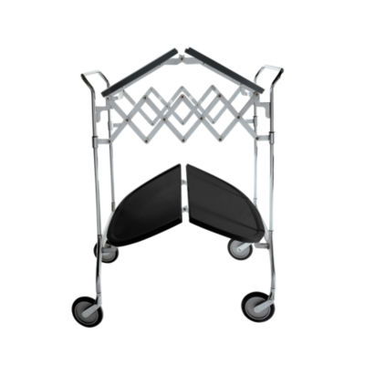 KTGAST-BLACK: Customized Item of Gastone Folding Trolley by Kartell (KTGAST)