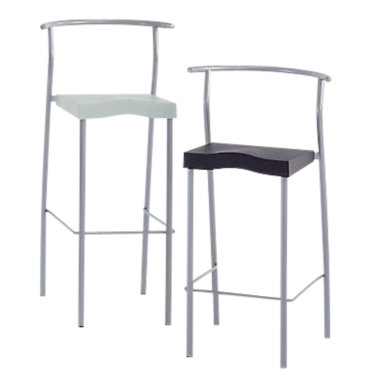 KTHGLOB34-SILVER_SILVER: Customized Item of Hi-Glob Stool by Kartell, Set of 2 (KTHGLOB)