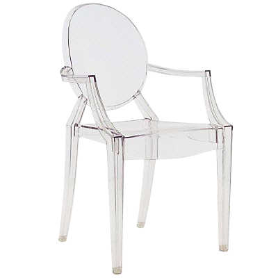 Picture of Louis Ghost Chair - Crystal by Kartell