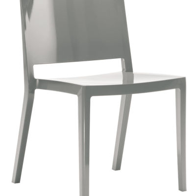 KTLZCGL2PK-GREY: Customized Item of Lizz Chair by Kartell, Set of 2 (KTLZC)