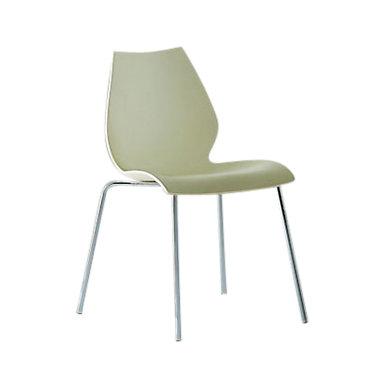KTMACR0012PK-ORANGE: Customized Item of Maui Side Chair by Kartell, Set of 2 (KTMACR001)