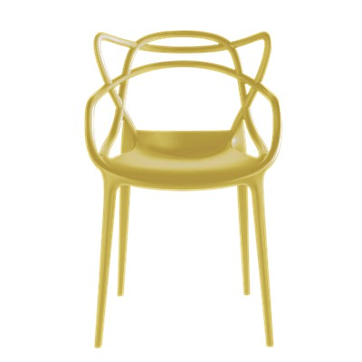 Picture Of Masters Chair By Kartell Set 2