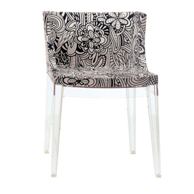 KTMMC-CRYSTAL_MISSONI CARTAGENA: Customized Item of Mademoiselle Printed Chair by Kartell (KTMMC)