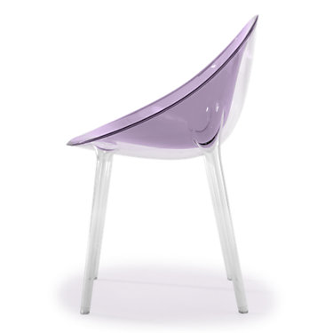KTMRI-MATTE WHITE: Customized Item of Mr. Impossible Chair by Kartell (KTMRI)