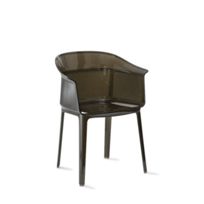 KTPAPY-SMOKE BROWN: Customized Item of Papyrus Chair by Kartell, Set of 2 (KTPAPY)
