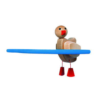 Picture of Kinder Touch Single Duck Shelf by Smart Furniture