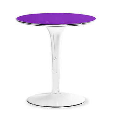 KTTIPTOP-TRANSPARENT BLUE: Customized Item of Tip Top Side Table by Kartell (KTTIPTOP)