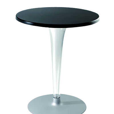 Outdoor Top Top Table, Round Base By Kartell
