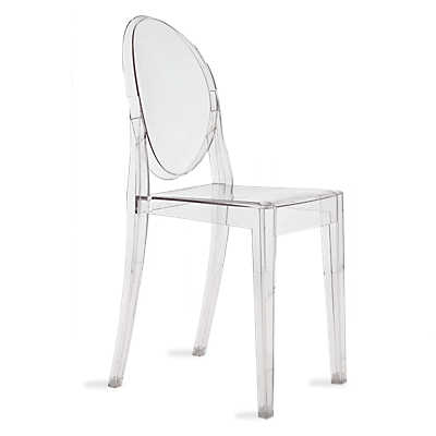 Picture of Victoria Ghost Chair by Kartell, Set of 2