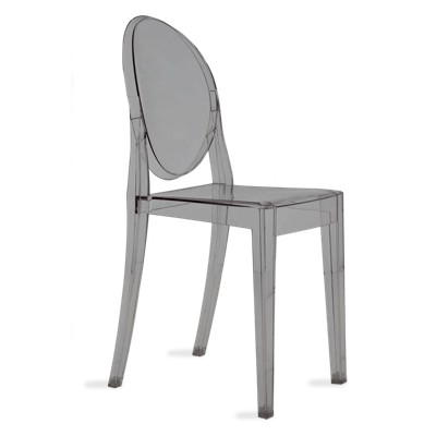 Picture Of Victoria Ghost Chair By Kartell Set 2