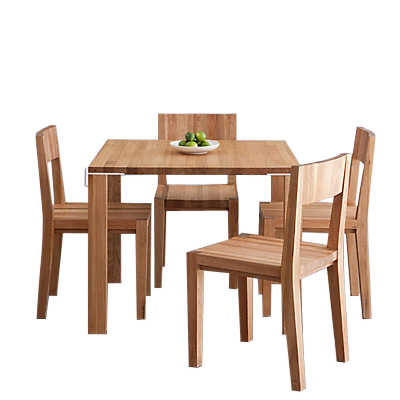 Picture of LAX Series Square Dining Table Set by MASHstudios