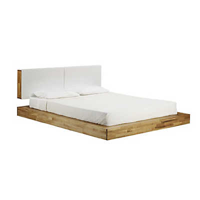 Picture of LAX Series King Platform Bed with Headboard by MASHstudios