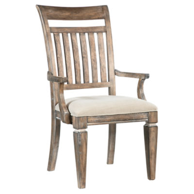 Picture of Brownstone Village Slat Back Arm Chair, Set of 2 by Legacy Classic Home