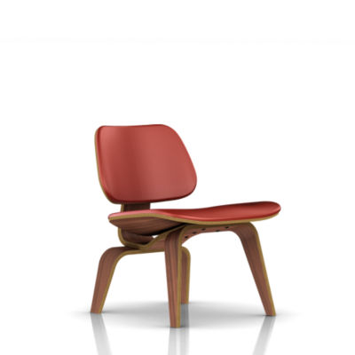 Picture of Eames Plywood Lounge Chair by Herman Miller, Upholstered