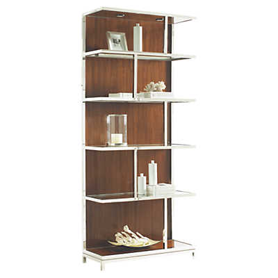 Picture of Mirage Kelly Bookcase by Lexington