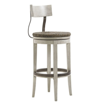Picture of Oyster Bay Merrick Swivel Bar Stool by Lexington