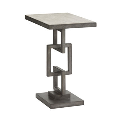 Picture of Oyster Bay Deerwood Rectangular Side Table by Lexington