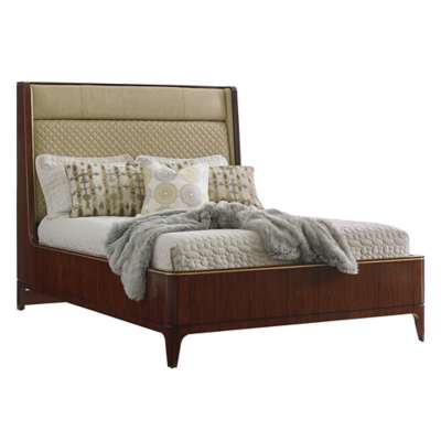 Picture for Take Five Empire Upholstered Platform Bed by Lexington