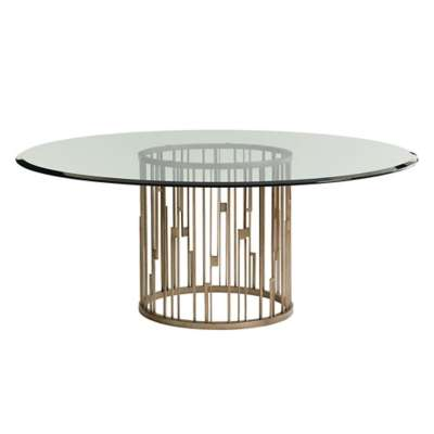 Picture for Shadow Play Rendezvous Round Metal Dining Table by Lexington
