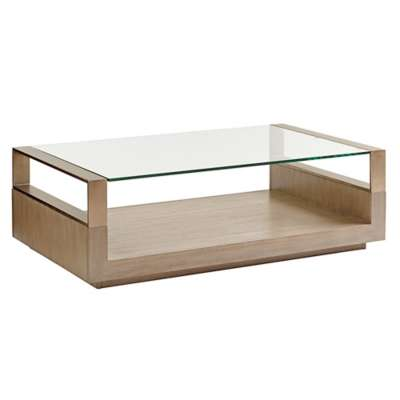 Picture for Shadow Play Center Stage Rectangular Cocktail Table by Lexington