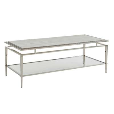 Picture for Ariana Athene Stainless Cocktail Table by Lexington