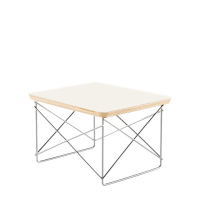 LTRT9847: Customized Item of Eames Wire-Base Table by Herman Miller (LTRT)