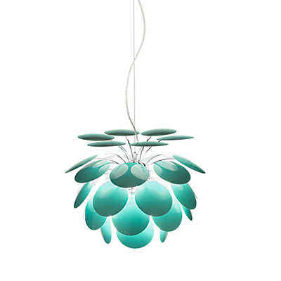 Picture of Discoco Suspended Light, Turquoise