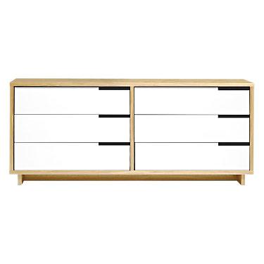 MDDR.0001-W-IV-IV-IV-IV-IV-GB: Customized Item of Modu-licious Low Dresser by Blu Dot (MDDR.0001)