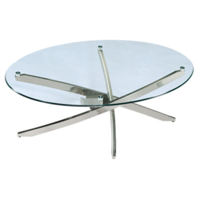 Picture of Zila Oval Cocktail Table by Magnussen