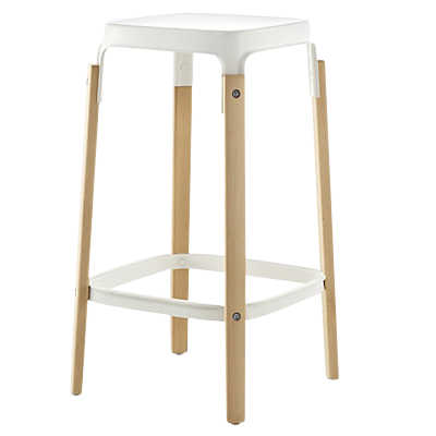 Picture of Steelwood Stool by Magis