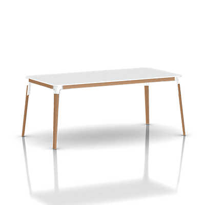 Picture of Magis Steelwood Rectangular Table by Magis