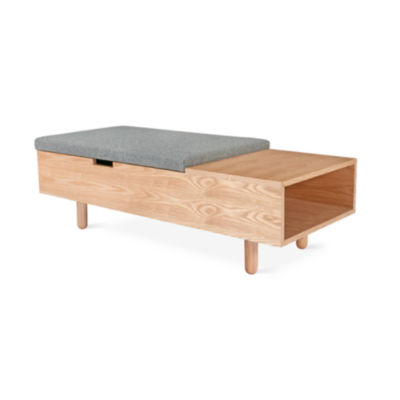 MIMICOSTOTT-ASH: Customized Item of Mimico Storage Ottoman by Gus Modern (MIMICOSTOTT)