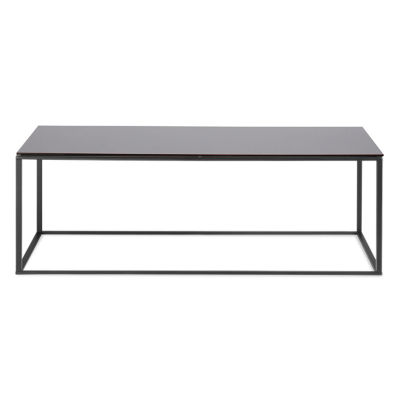 MINIMALISTA001-BLACK MIRROR-BLACK: Customized Item of Minimalista Coffee Table by Blu Dot (MINIMALISTA001)
