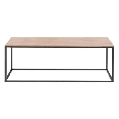 MINIMALISTA001-WALNUT-STAINLESS STEEL: Customized Item of Minimalista Coffee Table by Blu Dot (MINIMALISTA001)