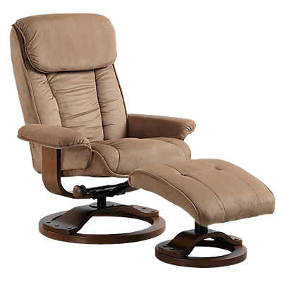Picture of Plush Recliner with Ottoman