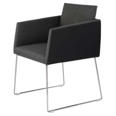Picture for Park Black Arm Chair  by Moe's