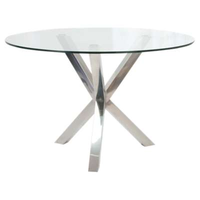 Picture for Redondo Glass Dining Table by Moe's
